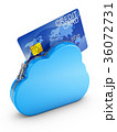 Cloud and credit card 36072731