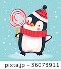 ぺんぎん ペンギン ベクタのイラスト 36073911