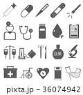 アイコン素材 医療器具 医療 医者 道具等 36074942