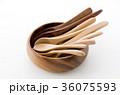 木のスプーンいろいろと木の器 36075593