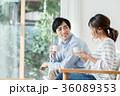 コーヒー 夫婦 新生活の写真 36089353