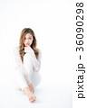 女性 若い ゆるふわの写真 36090298