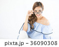 女性 若い ゆるふわの写真 36090308