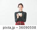 女性 20代 冬の写真 36090508