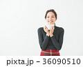 女性 20代 冬の写真 36090510