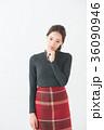 女性 20代 冬の写真 36090946