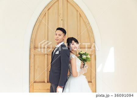 フォトウエディング 結婚 新郎新婦 36091094