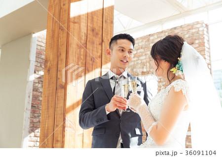 結婚式 パーティー シャンパン 36091104