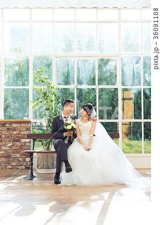 フォトウエディング 結婚 新郎新婦 36091108
