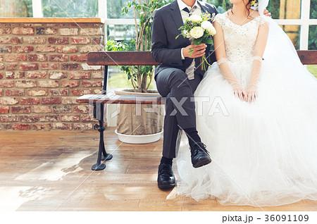 フォトウエディング 結婚 新郎新婦 36091109