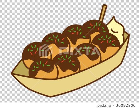 章魚燒 章魚小丸子 食物 36092806