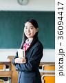 女子高生 教室 制服の写真 36094417