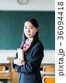 女子高生 教室 制服の写真 36094418