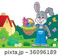 イースター うさぎ ウサギのイラスト 36096189
