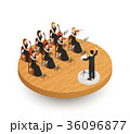 Orchestra Isometric Composition 36096877