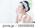 洗顔 泡 クレンジング ビューティー 女性 スキンケア ビューティ 若い女性 美容 36098688