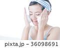 洗顔 泡 クレンジング ビューティー 女性 スキンケア ビューティ 若い女性 美容 36098691