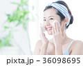 洗顔 泡 クレンジング ビューティー 女性 スキンケア ビューティ 若い女性 美容 36098695