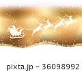 シームレスなクリスマスの背景 36098992
