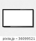 スクリーン 液晶ディスプレイ ベクトルのイラスト 36099521