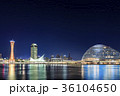神戸・メリケンパークの夜景 36104650