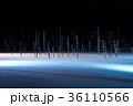 青い池 ライトアップ 美瑛の写真 36110566