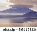 富士山と傘雲 36112880