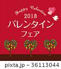 バレンタインフェア イラスト 36113044