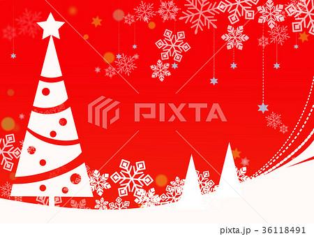 クリスマスの壁紙のイラスト素材 36118491 Pixta