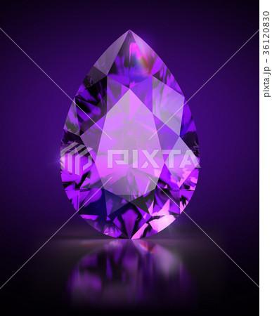 pear-shaped amethyst 36120830