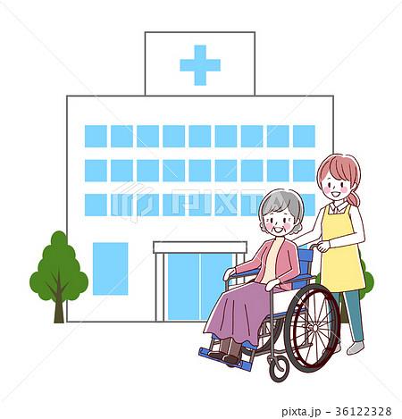 車椅子 シニア 介護 36122328