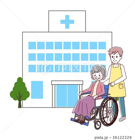 車椅子 シニア 介護 36122329