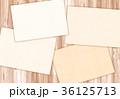 木目 テクスチャー フレーム 36125713