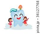 歯 歯磨き 子供のイラスト 36127768