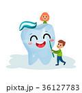 歯 歯磨き 子供のイラスト 36127783