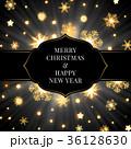 クリスマス ベクター バックグラウンドのイラスト 36128630