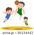 バスケットボール ダンクシュート 36134442