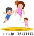 バスケットボール ダンクシュート 女子 36134443