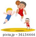 バスケットボール ダンクシュート 外国人 36134444