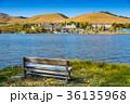 紅葉 白樺湖 湖畔の写真 36135968