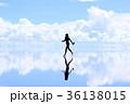 ウユニ塩湖 36138015