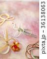 鶴 水引 縁起物の写真 36138063