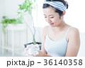 洗顔 クレンジング ビューティー 女性 スキンケア ビューティ 若い女性 美容 36140358