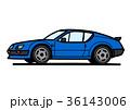 ベクター 自動車 外車のイラスト 36143006
