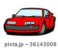 ベクター 自動車 外車のイラスト 36143008