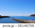 富士山 海岸 海の写真 36146706