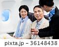 機内 旅行 シャンパンの写真 36148438