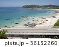 橋 角島大橋 海の写真 36152260