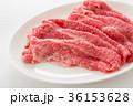 肉 牛肉 生肉の写真 36153628