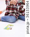 パズル (知育 子育て 育児 教育 子供部屋 キッズルーム おもちゃ 玩具 仔犬 ピース) 36153964